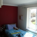 Elizabeth's bedroom redecoration
