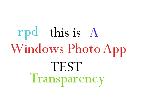 Windows 10 Photo App test png- normal view