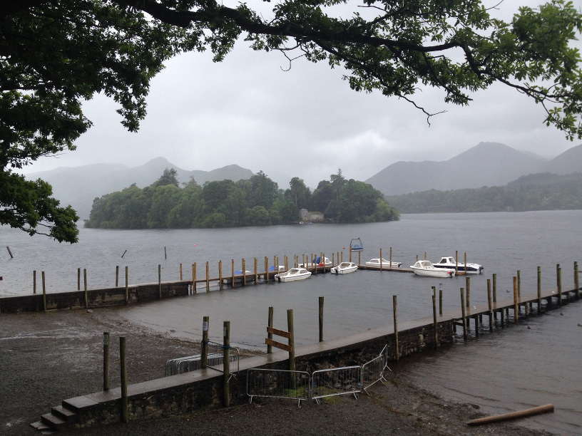 Ullswater in the mist Aug 2016