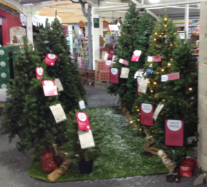 Artificial Christmas trees for sale Sep 2017